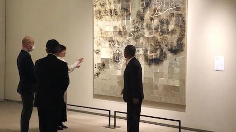 『2020年度 佐川美術館 栗和田榮一賞』を受賞いたしました。